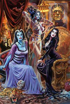 Monster Brides: Poster by Dan Brereton