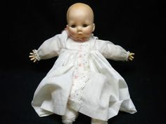 My first real baby doll.  Madame Alexander Victoria.