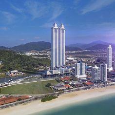 Localizado em Balneário Camboriú, Yachthouse terá 17 elevadores