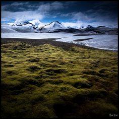The Lone Traveller © Michel Delli — in Iceland.