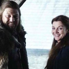 Ned and Catelyn Stark ~ Game of Thrones
