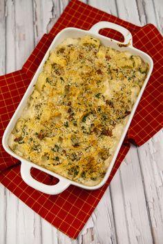 Italian Food Forever » Cheesy Baked Pasta With Cauliflower