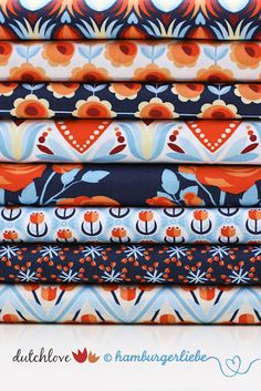Hamburger Liebe: Love Dutch  Pinned some fabulous dresses in this fabric, and Woohoo found the fabric!!!
