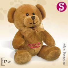 Kleiner Teddybär Tapsy, braun