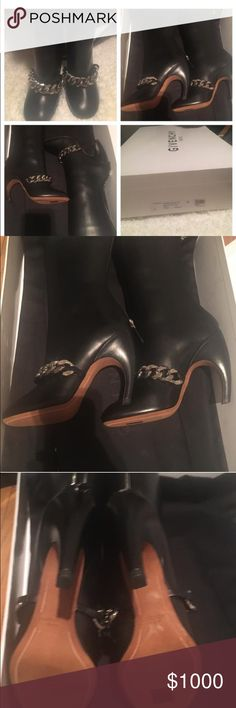 GIVENCHY CHAIN BOOTS BRAND NEW GIVENCHY BOOTS WITH BOX AND DUST BAG Givenchy Shoes Heeled Boots