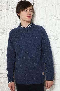 Carhartt Blue Heather Anglistic Sweater