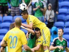 Eurocopa: Parc Olympique de Lyon por la segunda fecha del Grupo C, Irlanda del Norte se recuperó de la caída ante Polonia y venció a un Ucrania complicado