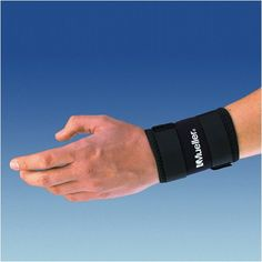 Mueller Wrist Sleeve Soft Neoprene Blend, provides warmth, wraparound design, Black - Medium  400 ** Read more reviews of the product by visiting the link on the image.