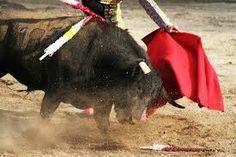 """Las corridas de estilo español se llaman una corrida de toros, """"corrida de toros"""" que significa."""