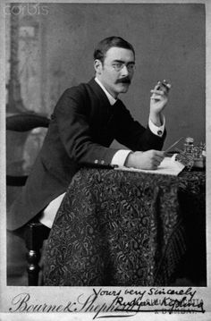 Rudyard Kipling, Author of 'The Jungle Book' +++