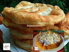 A legfinomabb lángos titka, szerintem ennél nincs is jobb a világon! Hungarian Recipes, Apple Pie, Quiche, Donuts, Pizza, Muffin, Toast, Food And Drink, Cheese