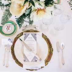 Place Setting | 1920's inspired wedding on Style Me Pretty: http://www.stylemepretty.com/2013/12/27/1920s-inspired-healdsburg-wedding/ Scott Andrews Studio