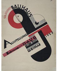 #Poster #Bauhaus #Exhibition in #Weimar 1923, by #Joost #Sch...    #Bauhaus #berlin #exhibition #Joost #poster #Sch #Schmidt. #Weimar