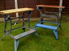 Support bench tools on a workmate pinterest bench woodworking black and decker workmate greentooth Images