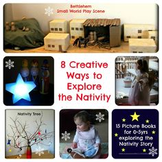 8 creative ways to explore the Nativity with young children