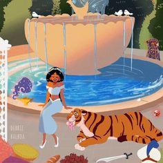 Debbie Balboa - First set of my Disney Princesses ♡ Disney Pixar, Disney Fan Art, Disney Animation, Walt Disney, Disney Nerd, Cute Disney, Disney Girls, Disney And Dreamworks, Disney Cartoons