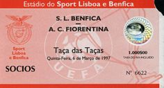 Benfica - Fiorentina #Benfica #Ticket