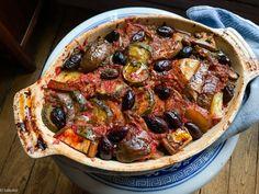 Ratatouille Au Four, Greek Recipes, Paella, Vegetable Pizza, Gluten, Vegan, Vegetables, Ethnic Recipes, Desserts