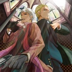 Photo of Germany & Prussia for fans of Hetalia.
