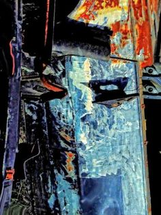 """Saatchi Art Artist Lauro Winck; Photography, """"Composition X010 with iron, paint and scrap"""" #art"""