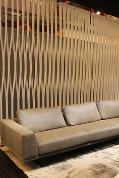 100% DESIGN, London 2013 #screen Outdoor Sofa, Outdoor Furniture, Outdoor Decor, Sliding Wall, Office Reception, Waiting Area, Walls, Velvet, Interiors