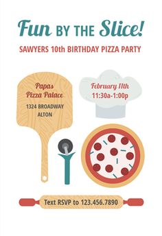 Cooking recipe card invitations template recipe cards pizza fun printable invitation template customize add text and photos print download stopboris Choice Image