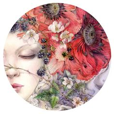 """""""She Sleeps"""" Limited edition prints here: http://www.shadowscapes.com/image.php?lineid=48&bid=1275 Original will be at Tighnabruaich Gallery #tiggallery in December for the show """"Where Beauty Sleeps"""" #fineart #imaginationarts #dreamart #fantastic... Stephanie Pui-Mun Law"""