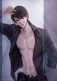 Robbie amell anime boy in 2019 garotos anime, desenhos de anime, anime masc Hot Anime Boy, Anime Sexy, Manga Sexy, Cool Anime Guys, Anime Boys, Anime Couples Manga, Anime Guys Shirtless, Handsome Anime Guys, Chica Anime Manga