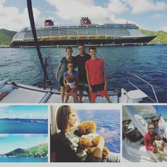 The last of the pics from our Unfrozen Contest winners as they enjoy the Disney Cruise. Disney Cruise, Family Travel, Summertime, Polaroid Film, Boat, Vacation, Building, Instagram Posts, Family Trips