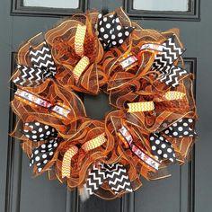 Tennessee Volunteers Wreath Volts Wreath UT by WreathsByRobyn