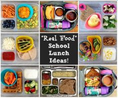 """""""Real Food"""" School Lunch Ideas! - 100 Days of Real Food"""