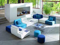 Canape d angle cuir center