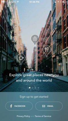 Spot — the best places according to experts and friends Screenshots