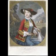 'October' From the months of the year 1745 After work by: Thomas Burford (ca. 1710-ca. 1770)