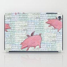 Pigs might fly iPad Case by Bozena Wojtaszek   Society6