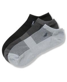 Polo Ralph Lauren Men's Socks, Athletic No Show Men's Socks 3-Pack - Grey Assorted 10-13