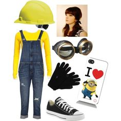 Despicable me Halloween costume | Costumes Halloween costumes and Halloween ideas  sc 1 st  Pinterest : minion costume for halloween  - Germanpascual.Com