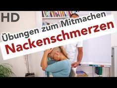 Nackenschmerzen // Nackenübungen, Nackenverspannungen, Nackentraining, Faszien Training - YouTube