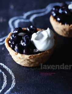 Blueberry lavender tart. Sweet Paul - Fall 2013 - Page 65