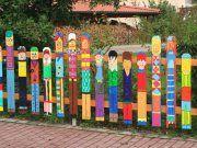 Çit Dekorasyon Fikirleri – Bahçe Çit Düzenleme 23 Örnek