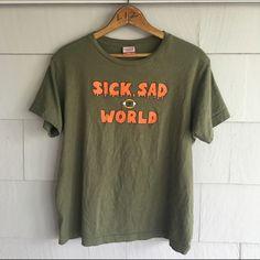 #Daria Sick Sad World t shirt - women's L Lala La Lala Tops Tees - Short Sleeve
