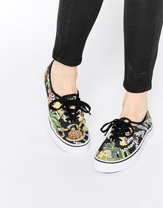 0c145f21e4 Image 1 of Vans Disney Jungle Book Authentic Trainers Vans Shoes
