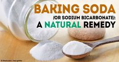 Sodium bicarbonate, most commonly known as baking soda, is useful not only for baking, but also for medicinal and household purposes. http://articles.mercola.com/sites/articles/archive/2012/08/27/baking-soda-natural-remedy.aspx