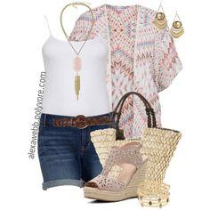 Plus Size Fashion - Sommer Kimono Curvy Girl Fashion, Trendy Fashion, Plus Size Fashion, Fashion Outfits, Kimono Fashion, Summer Wear, Spring Summer Fashion, Summer Outfits, Cute Outfits