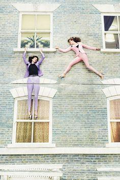 Dalston House Harper's Bazaar Fashion Shoot #fashion #art