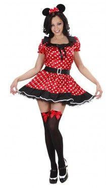 Sexy Maus Kostüm Minnie für Damen                                                                                                                                                                                 Mehr