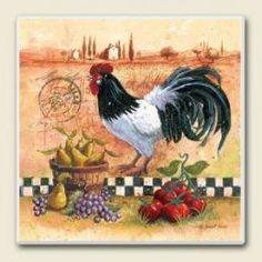 rooster kitchen decor - Rooster Kitchen Decor