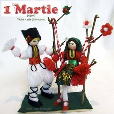 Baba Marta, Popsicle Crafts, Felt Pictures, Cork Art, Beautiful Hands, Needlework, Knit Crochet, Diy And Crafts, Congratulations