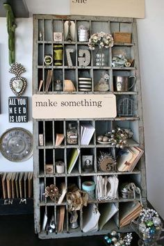 Great storage! I want this for my studio