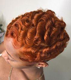 50 Chic Short Bob Hairstyles & Haircuts for Women in 2019 - Style My Hairs Curly Hair Styles, Natural Hair Styles, Cute Short Haircuts, Pelo Afro, Dyed Natural Hair, Sassy Hair, Hair Laid, Relaxed Hair, Ginger Hair